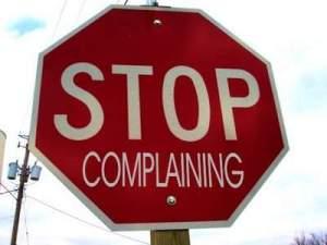 stop complaining berhenti mengeluh