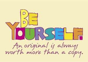 menjadi diri sendiri
